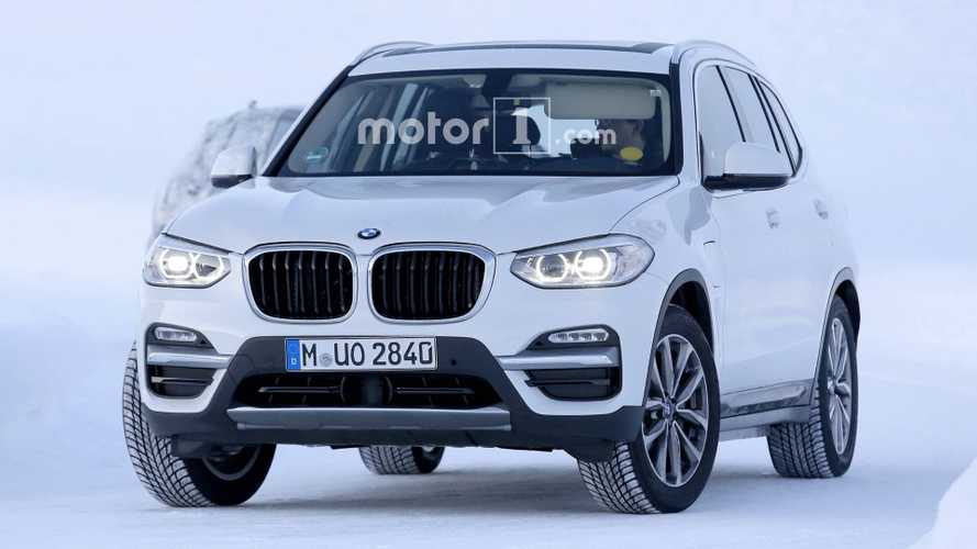 Pure Electric BMW iX3 Spied For First Time, PHEV X3 Spotted Too
