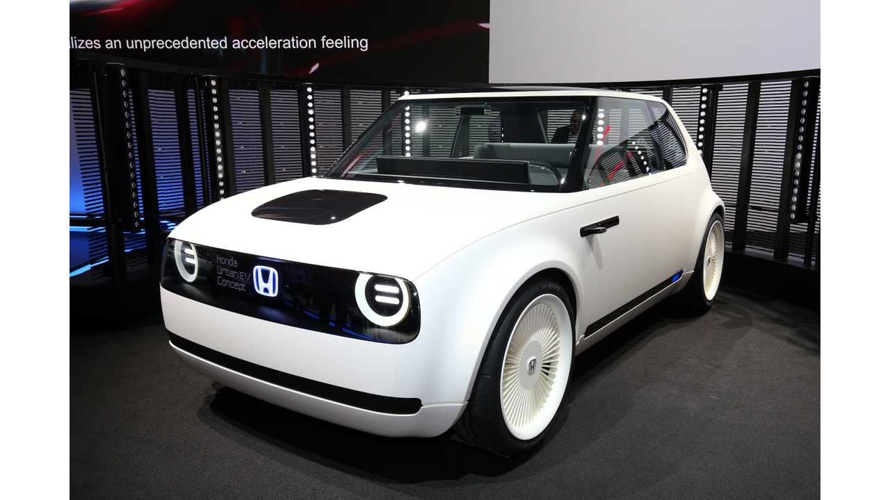 Honda Commits To Production Of Urban EV In 2019
