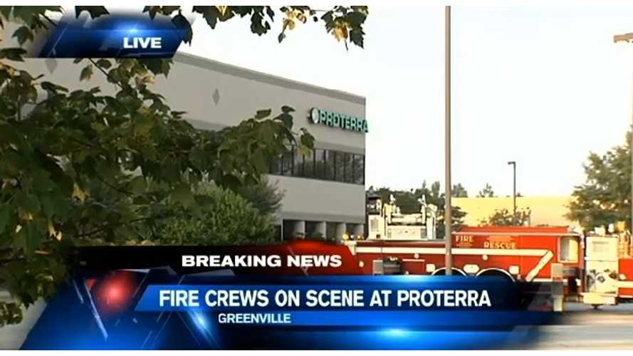 Fire, Explosions Reported At Proterra Bus Factory
