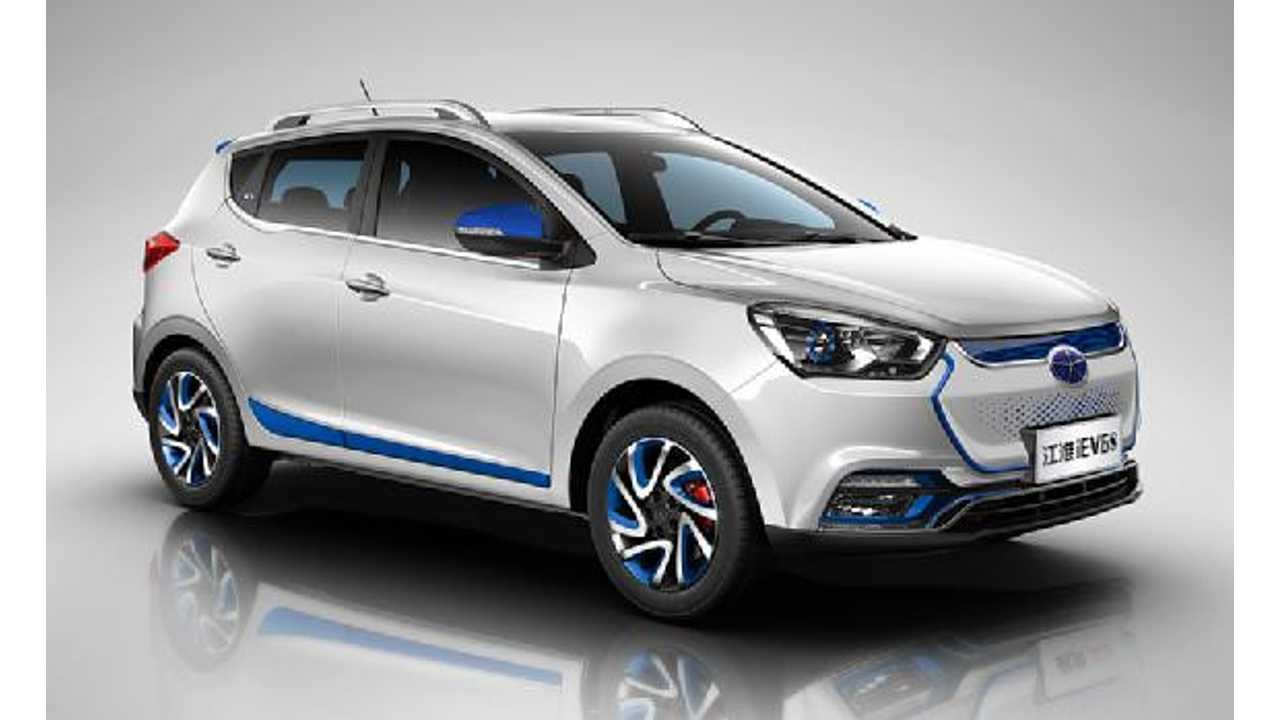 Samsung SDI To Supply JAC Motors With 18650 Lithium-Ion Batteries For Long-Range Electric SUV