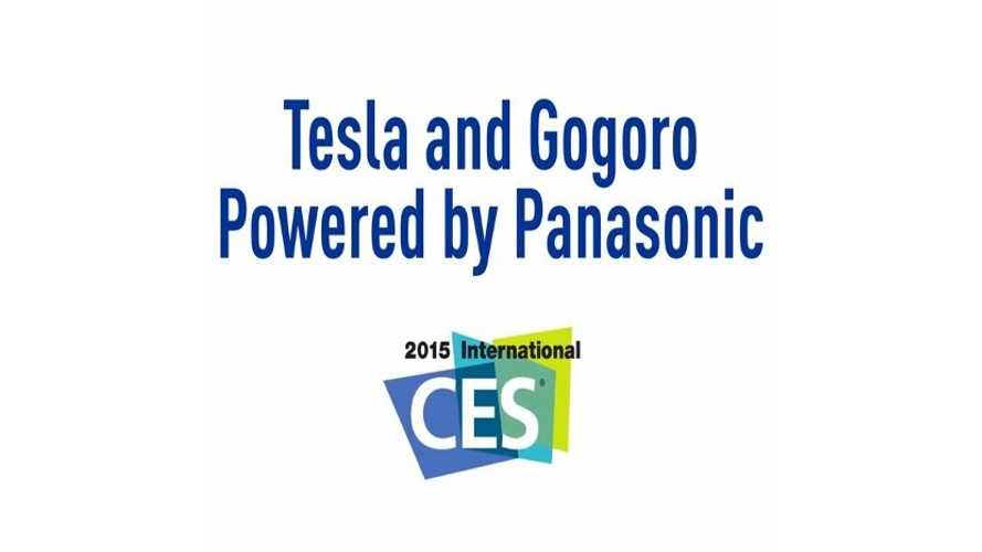 Panasonic CES 2015 Video - Tesla Model S & Gogoro Scooter Batteries