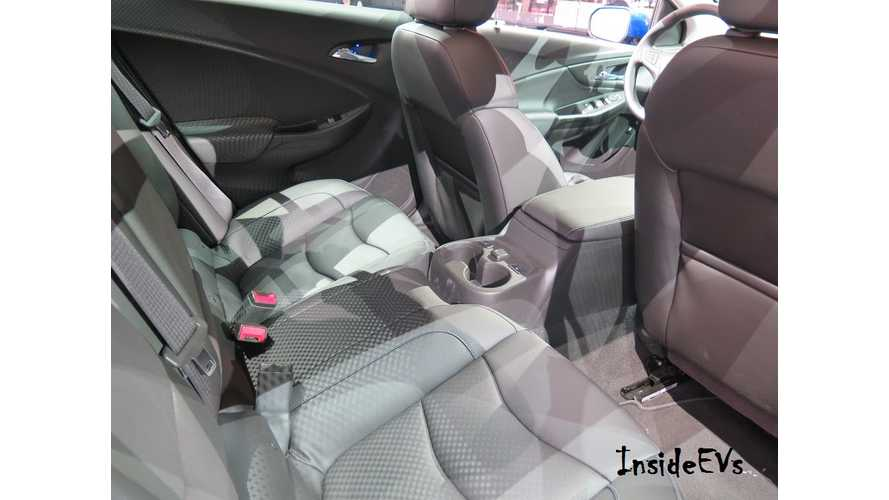 Exclusive Images Of 2016 Chevrolet Volt Rear Seat