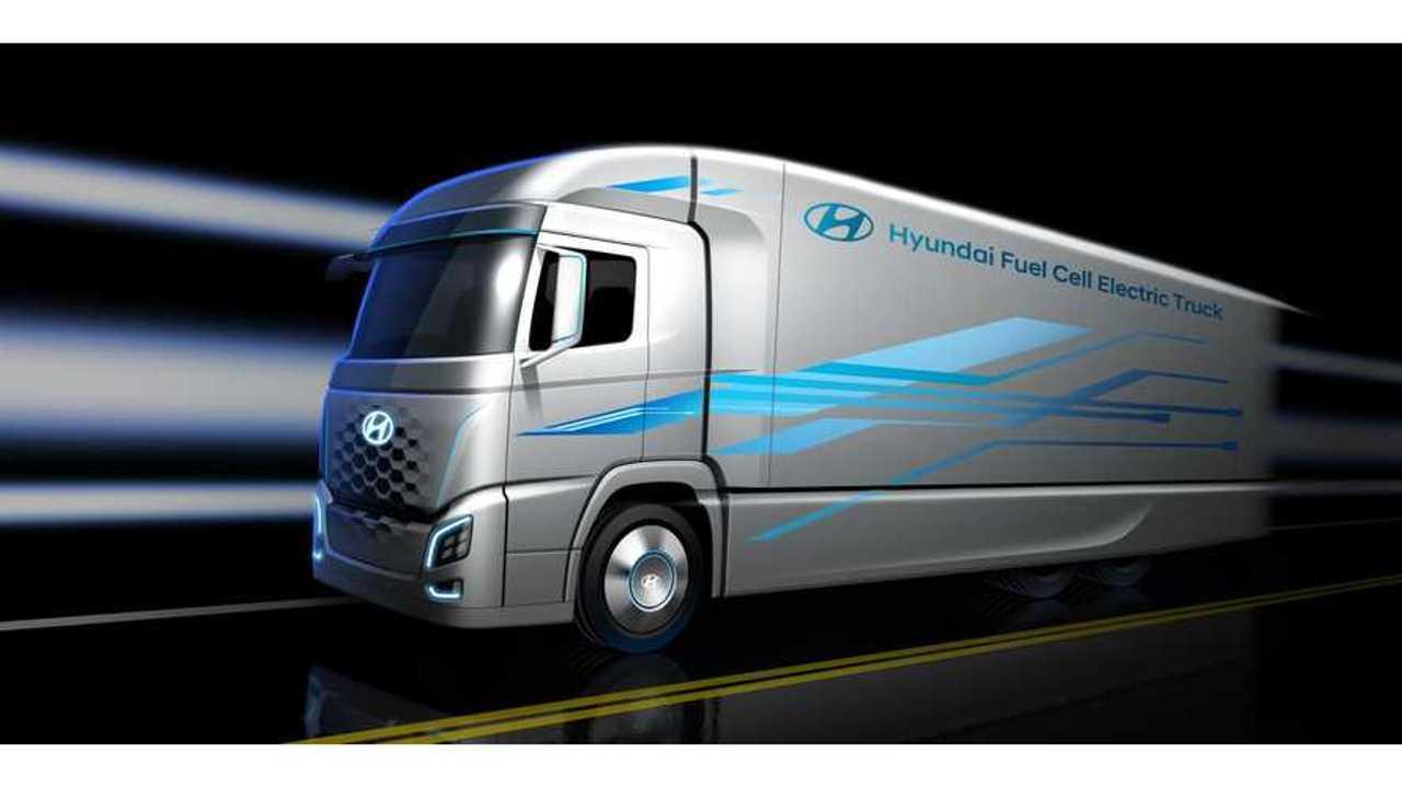 Hyundai And H2 Energy To Launch 1,000 Hydrogen Trucks in Switzerland