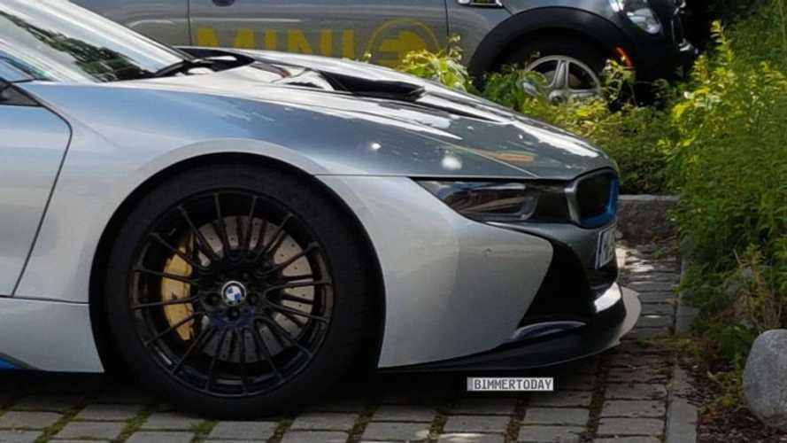 BMW i8 Prototype Spotted Sporting Performance Upgrades