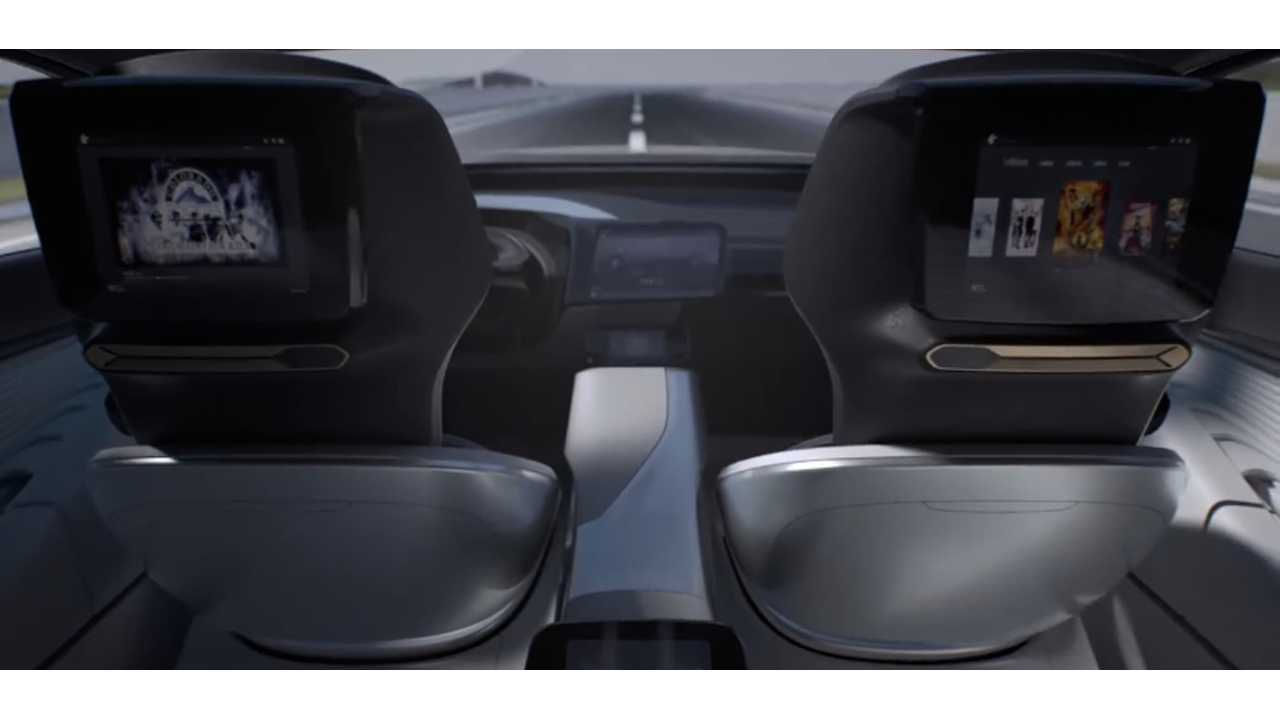 LeEco LeSEE Interior, Image Credit: <a href=
