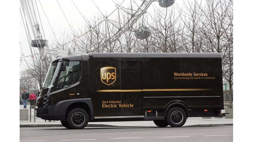 Smart Grid Will Allow 170 UPS Electric Trucks To Charge Without Costly Upgrades
