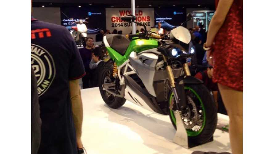Energica EVA Unveiled at EICMA, Milan 2014