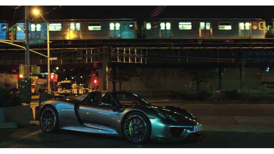 Drive Attempts To Go 13 4 Miles In Porsche 918 Spyder Electric Only Mode Video