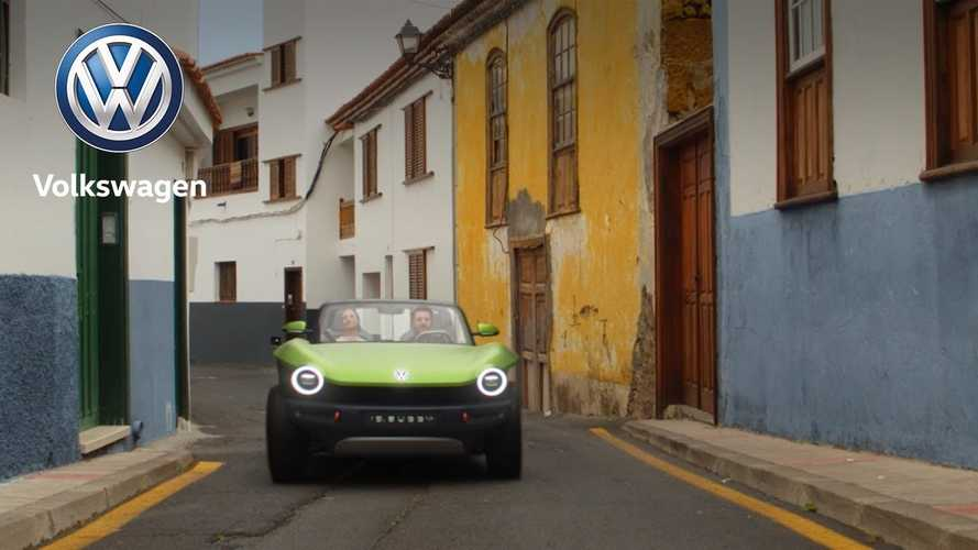 See The Volkswagen I.D. Buggy Electric Car In Action: Video