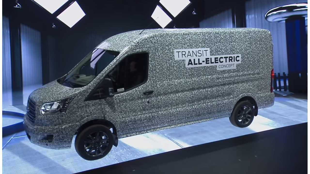 2021 ford transit electric van everything we know