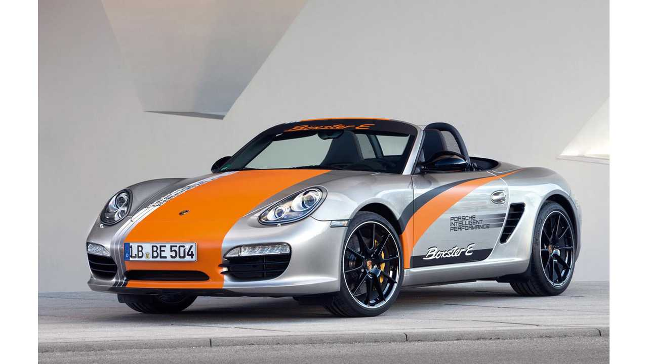 Porsche To Decide On Possible Electric Boxster This Year