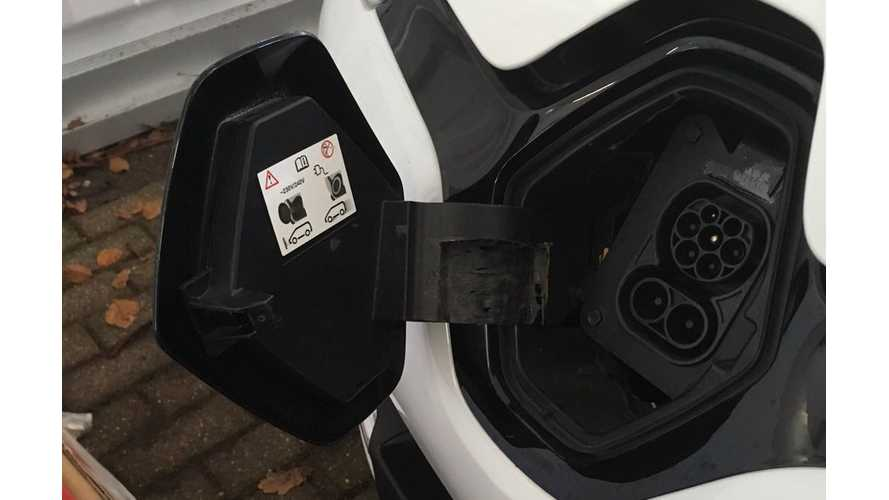 Renault Tests ZOE Prototype With CCS Combo Charging Inlet
