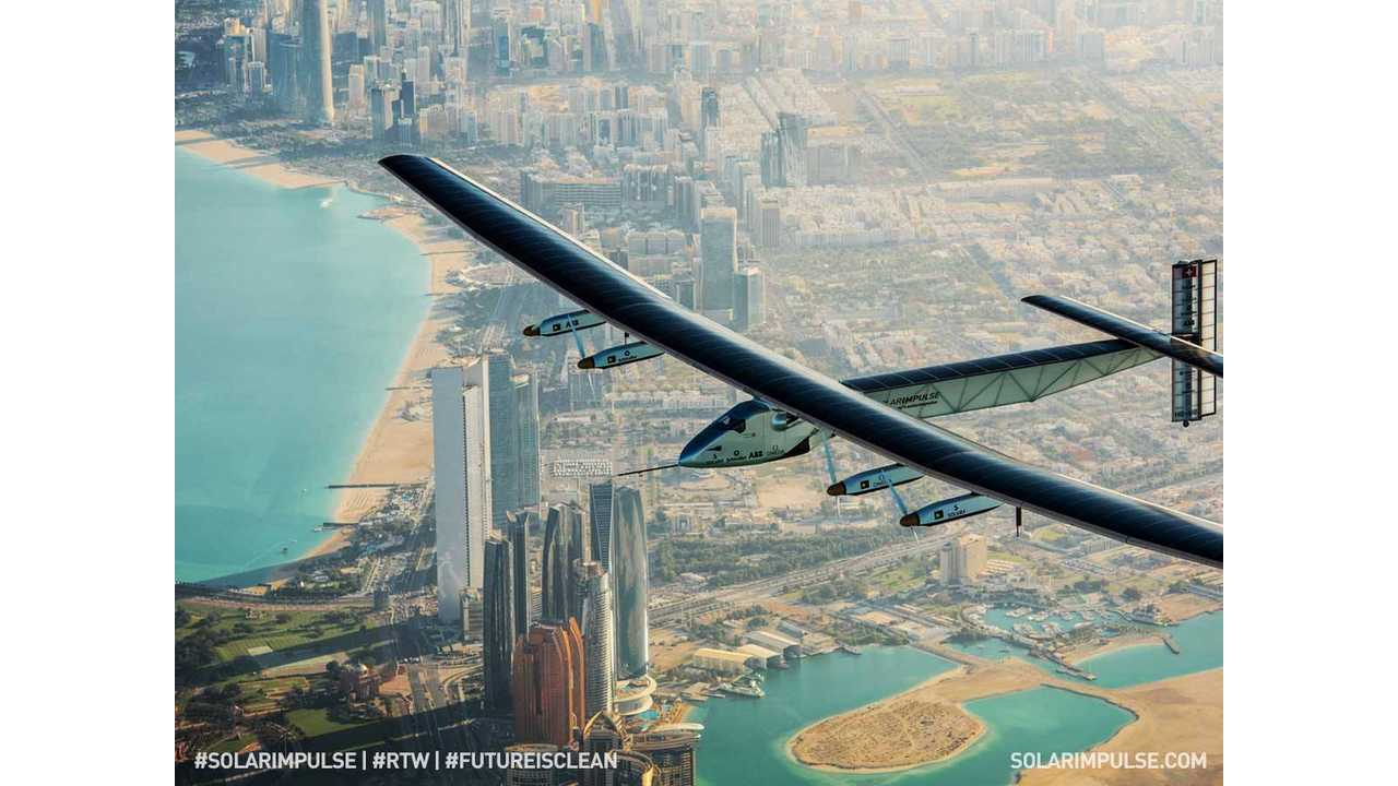 Solar Impulse 2 Begins History-Making Round-The-World Flight