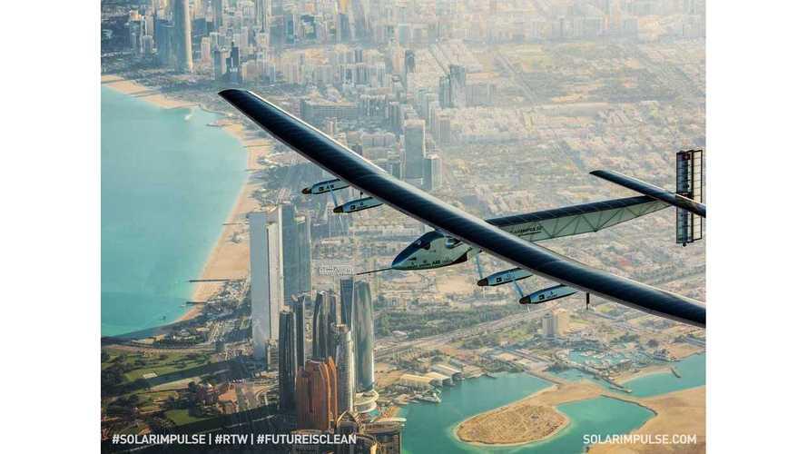 Solar Impulse 2 Begins History-Making Round-The-World Flight