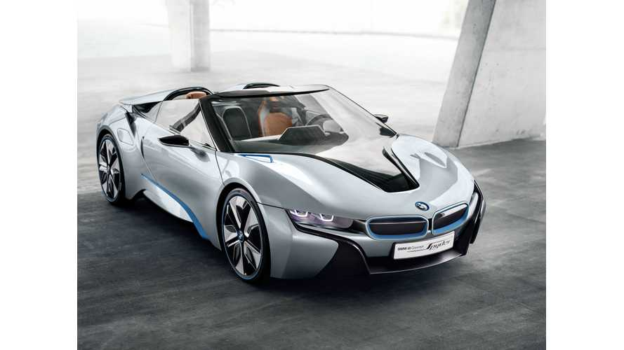 BMW CEO: Convertible i8 Coming, Along With New i3 & Plug-In Hybrid Mini