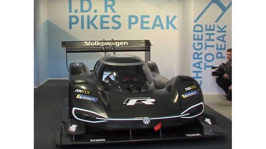 Watch Volkswagen I.D. R Pikes Peak Reveal
