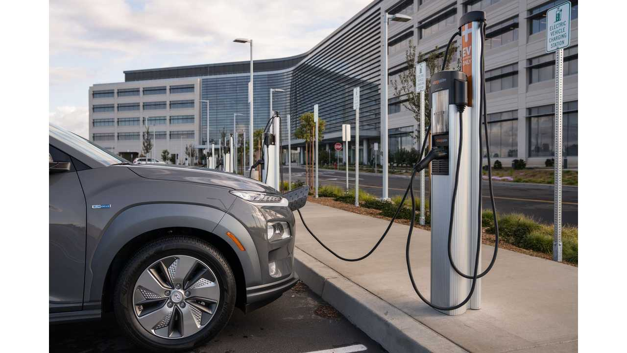 The Rise Of Electric Vehicle Charging Points Charted For U.S.