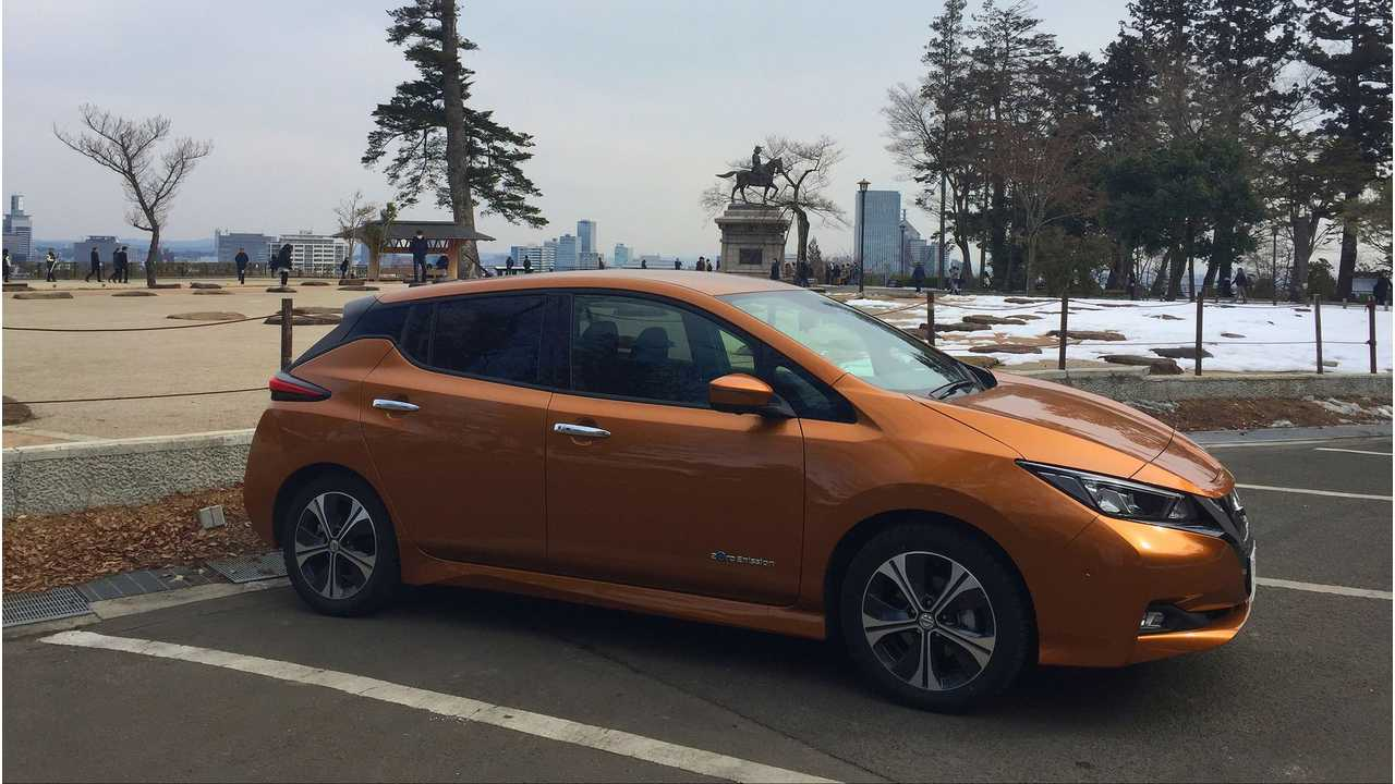 Nissan LEAF Sales Hit Almost 3,000 In Japan In March