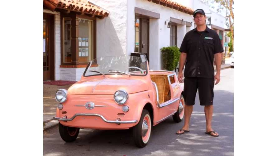 """EV Show"" Episode 5: Electric Fiat 500 Jolly, Formula E, Battery Pack Balancing - Video"