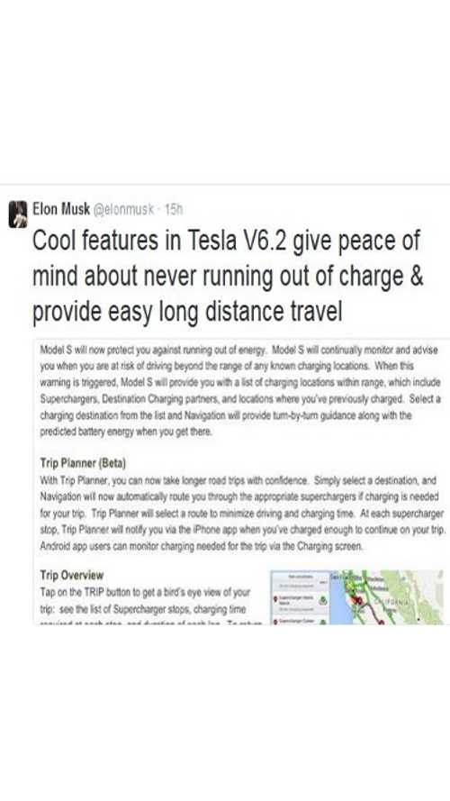 Tesla Model S Software 6.2 To Roll Out OTA This Weekend - Release Notes