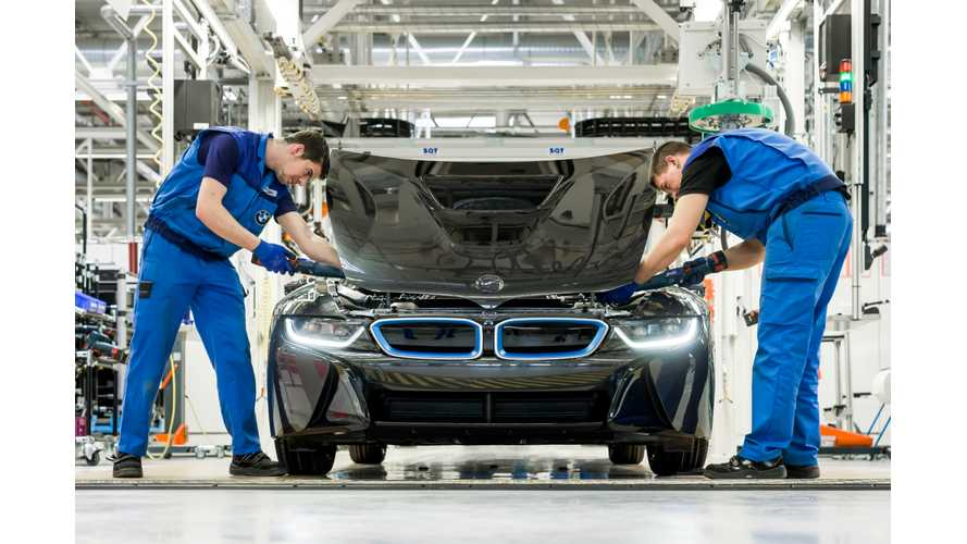 BMW Doubles i8 Production