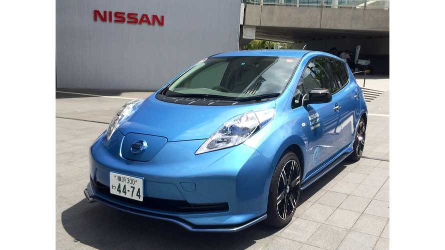 Report: 2016 Nissan LEAF To Get 25% Larger Battery/More Range, New Colors