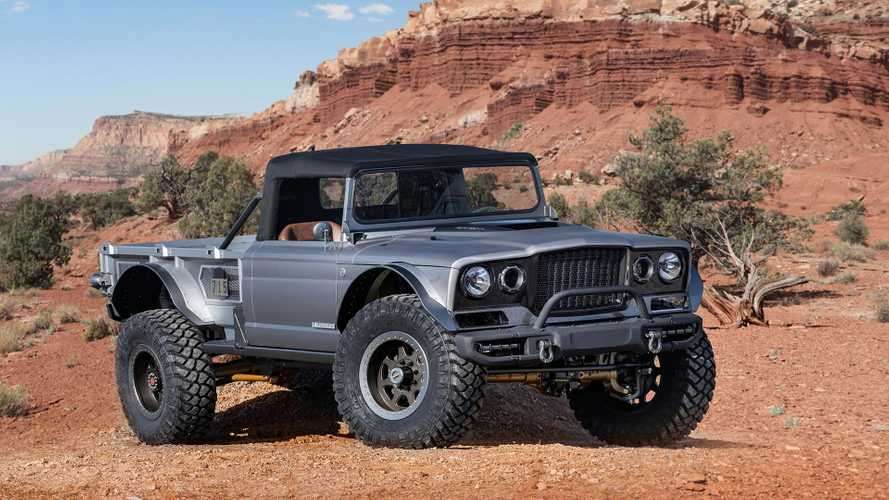 Jeep Gladiator M-715 Five Quarter Concept