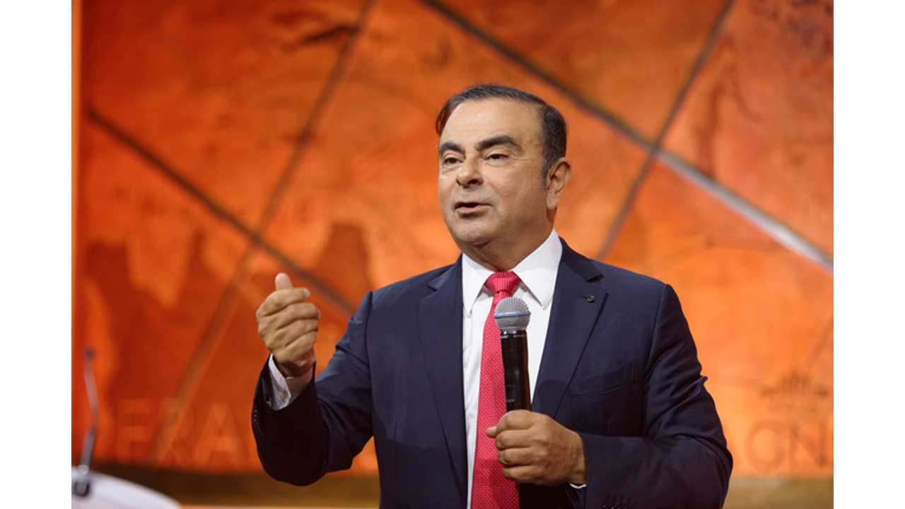 Carlos Ghosn Readies The Renault-Nissan-Mitsubishi Alliance For An EV Assault