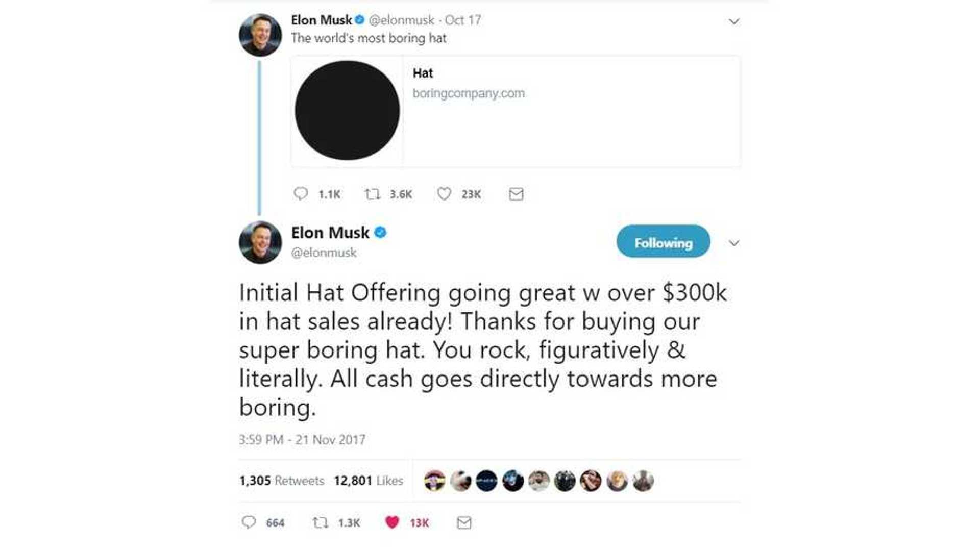 bb3851d28c1 Boring Hat Sales Raise Over  300