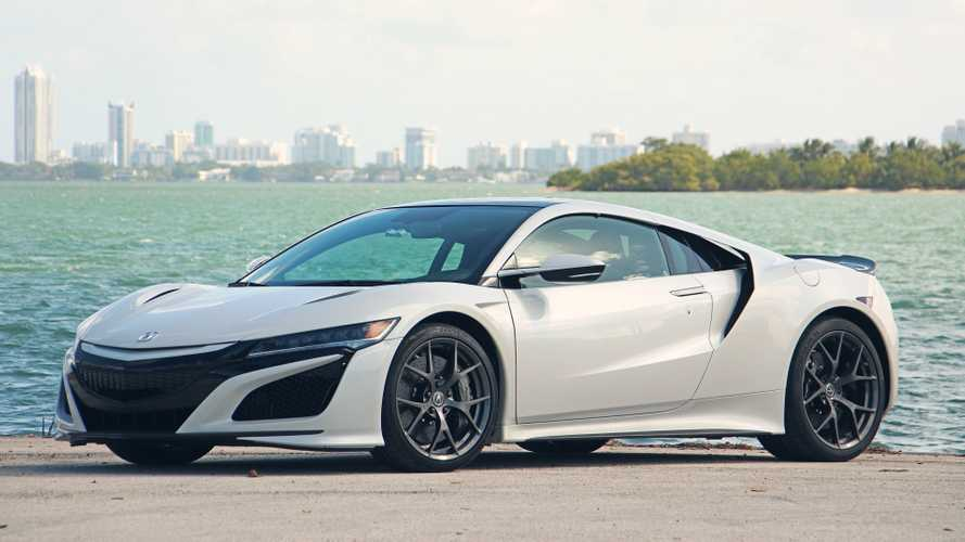 2019 Acura NSX Review: NSX And Candy