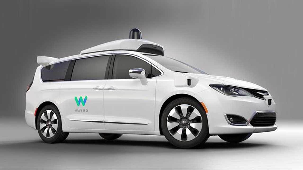 Waymo's self-driving Chrysler Pacifica Hybrid