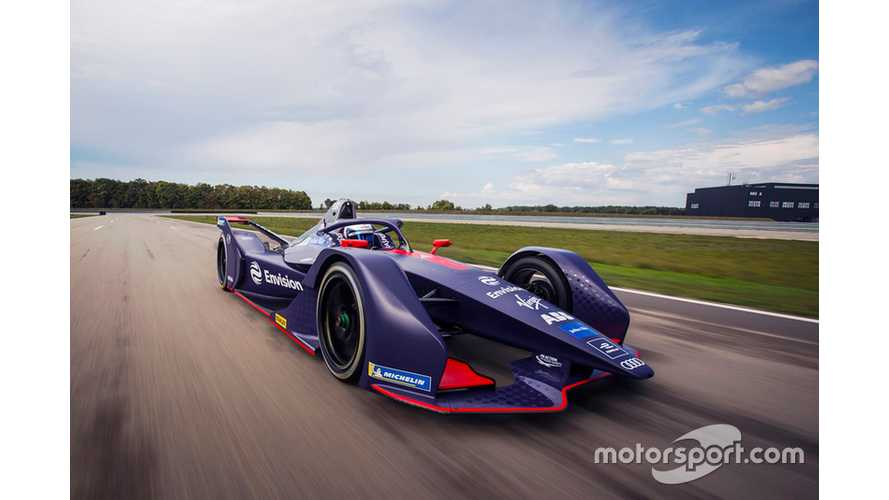 Virgin Reveals Gen2 Formula E Livery