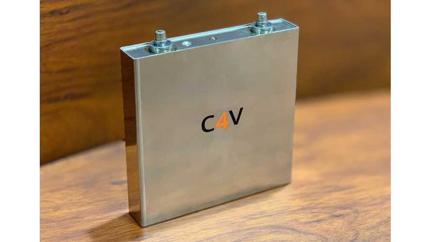 C4V Develops & Presents Working Solid-State Battery: Video