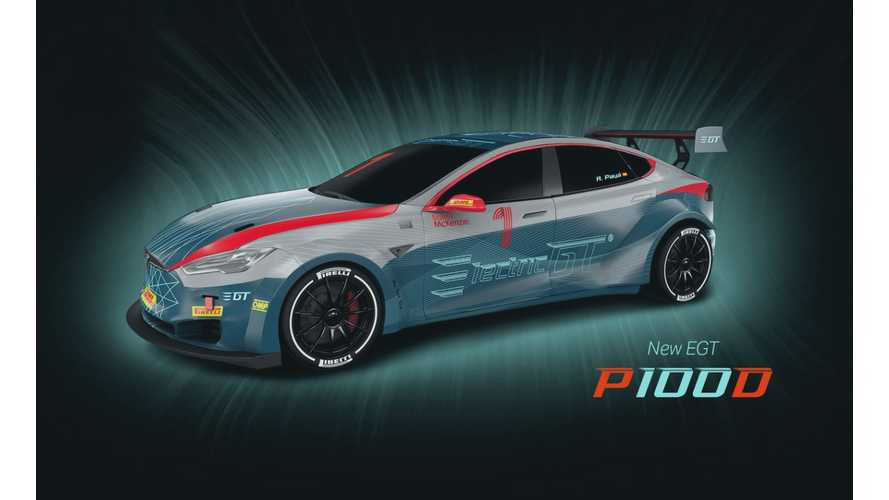 First Electric GT Race Featuring Tesla Model S P100Ds Will Kick Off August 12 At Silverstone