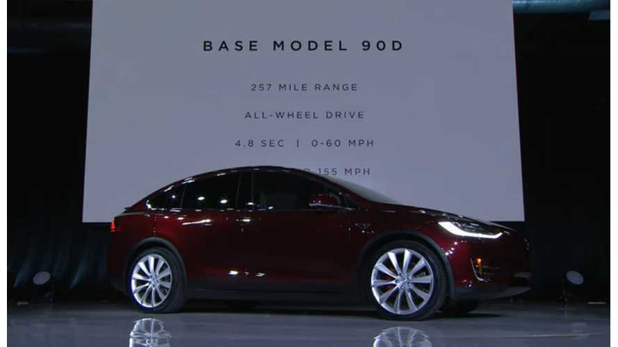 """Report: Tesla Model X Is America's Most """"Fuel-Efficient"""" SUV - Obviously"""