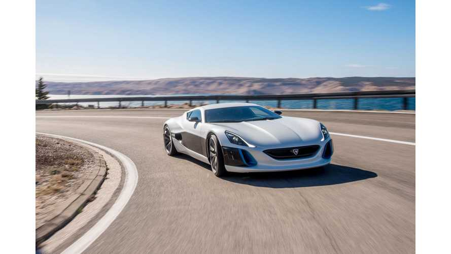 Rimac Hopes To Become The World's #1 EV Parts Supplier...Medium Sized For Today OK Too (Update)