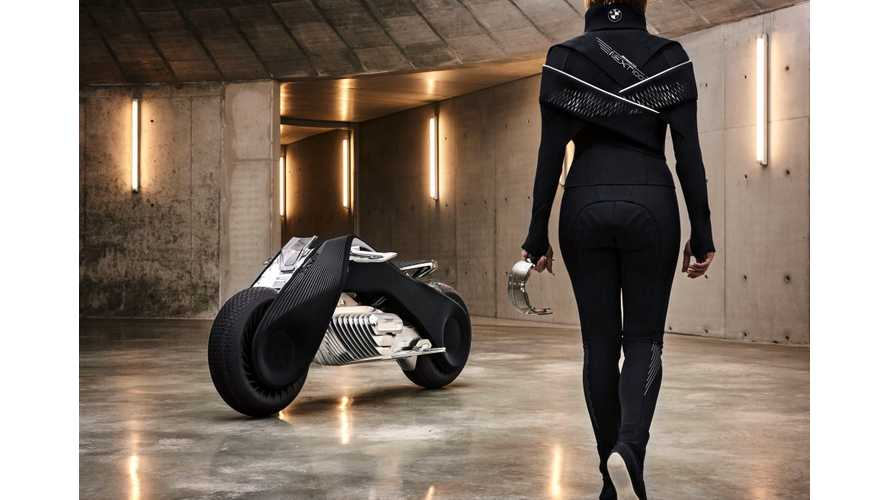 BMW VISION NEXT 100 Self-Balanced Electric Motorcycle Unveiled - Videos