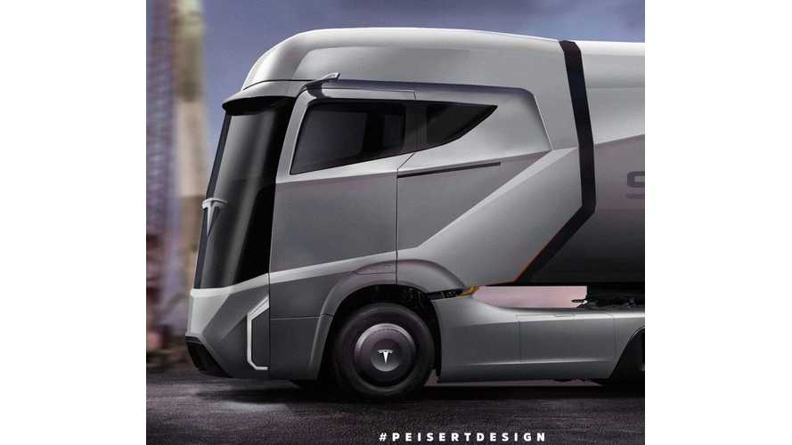 Tesla Semi Rendered