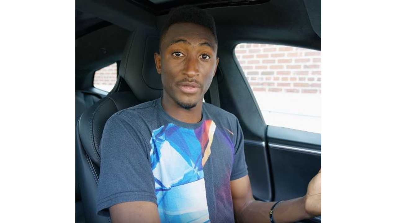 Marques Brownlee Posts Test Drive Impressions Of Tesla Model 3 - Video