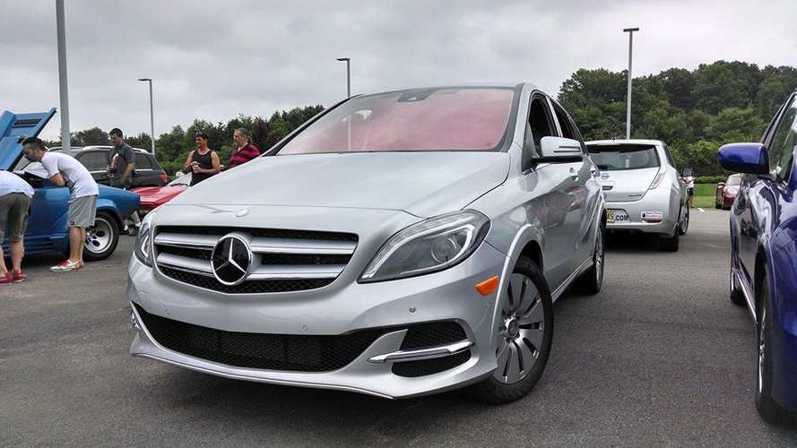 Mercedes-Benz B-Class Electric Drive Launches In US Today