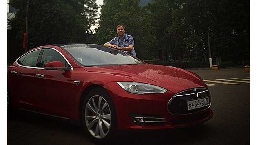 Meet Russia's First Tesla Model S Owner