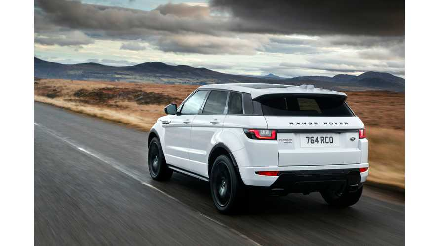 Range Rover Evoque Plug-In Hybrid Coming In 2019