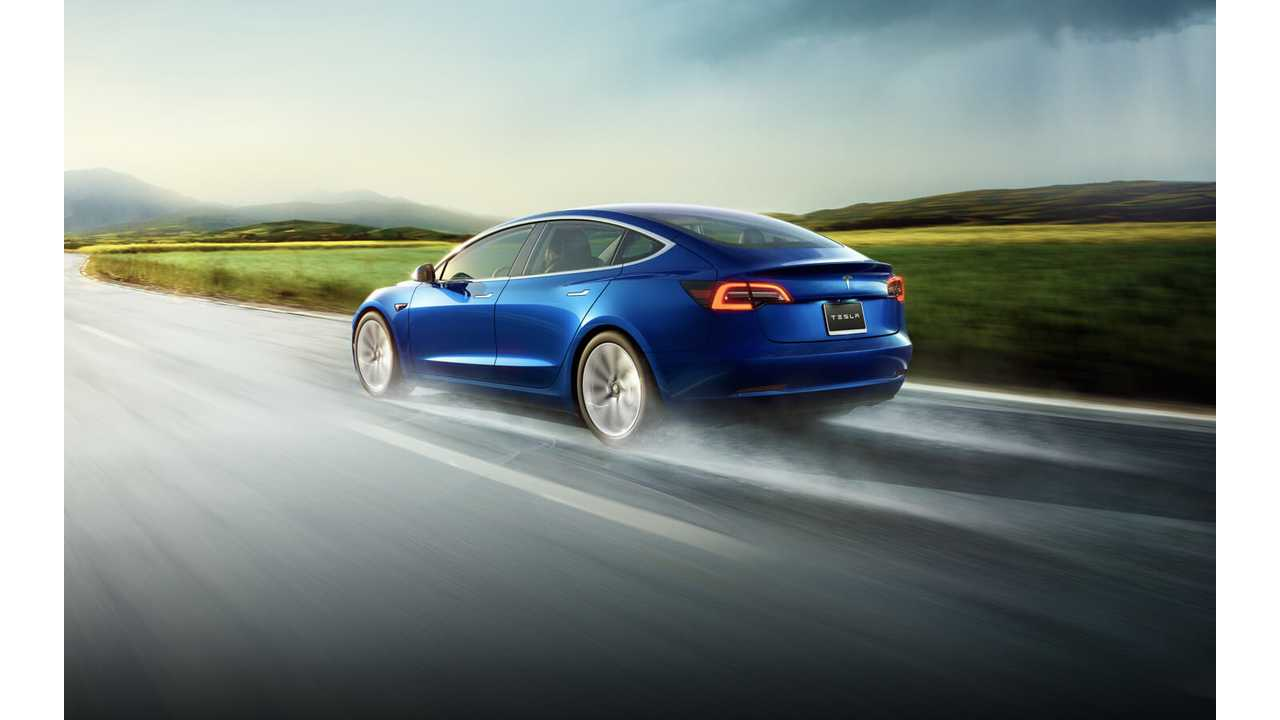 Tesla Model 3 Production Hits 60,000 And Counting