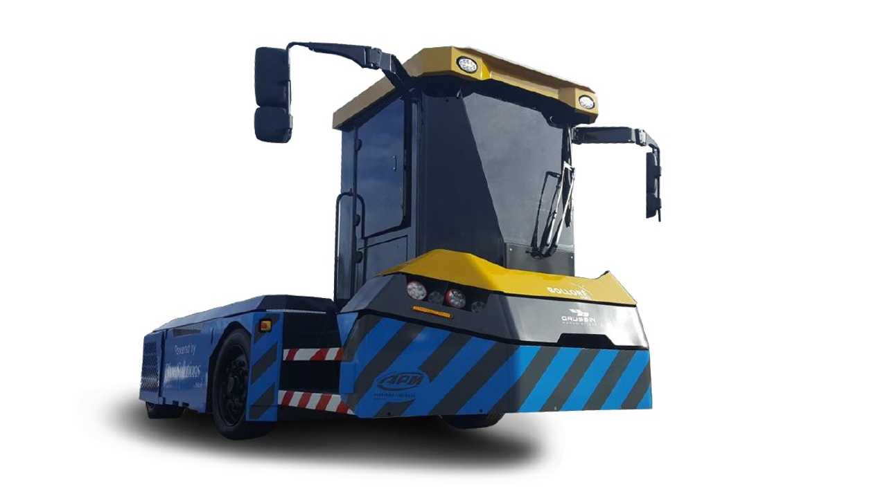 Electric Harbor Tractor To Electrify African Ports