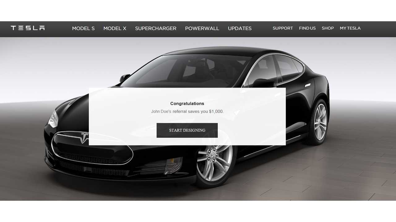 Tesla Now Pays $1,000 For Referral Sales, First To Refer Ten Gets Free Model X
