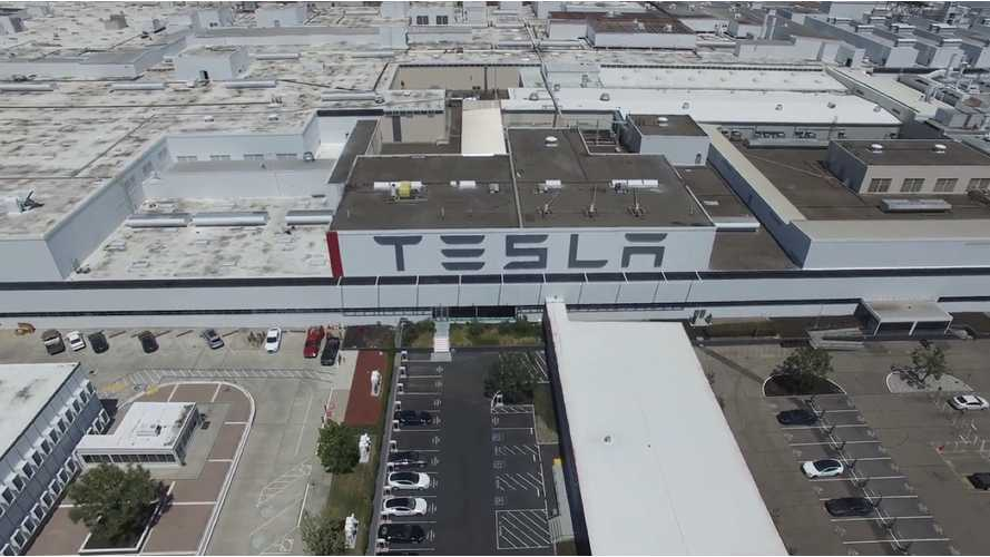 Tesla's Fremont Factory - 4K Drone Video
