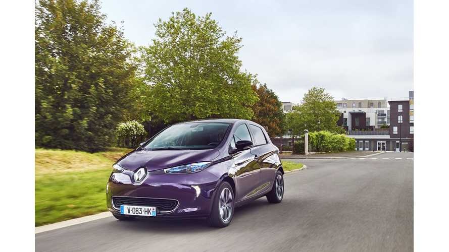 First Drive Review Of New Renault ZOE R110