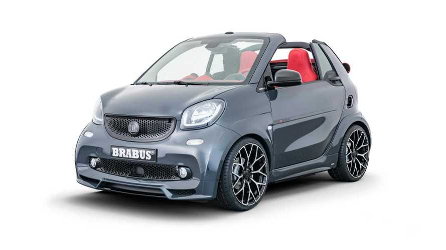 Brabus Ultimate E Shadow Edition Smart Fortwo Debuts