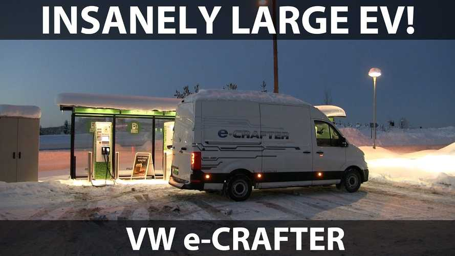 Bjorn Nyland Drives Volkswagen e-Crafter Electric Van: Video