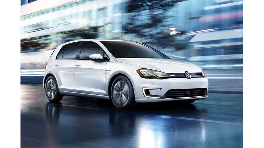 Volkswagen e-Golf Leads Plug-In Sales In Austria